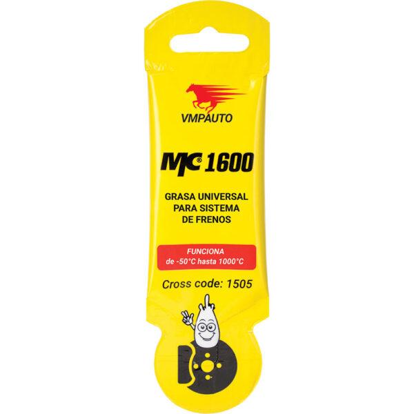 Grasa MC 1600 universal para el sistema de frenos